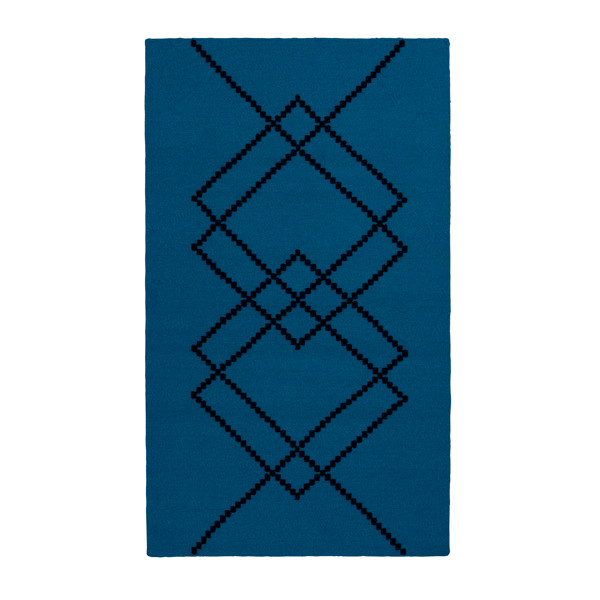 Louise Roe Rug Borg matta, Royal Blue