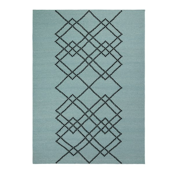 Louise Roe Rug Borg gulvtæppe 170x240 cm, Vintage Green