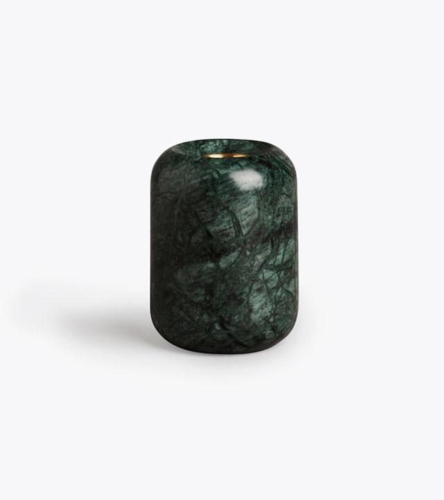 New Works Balance lysestage, grøn marmor