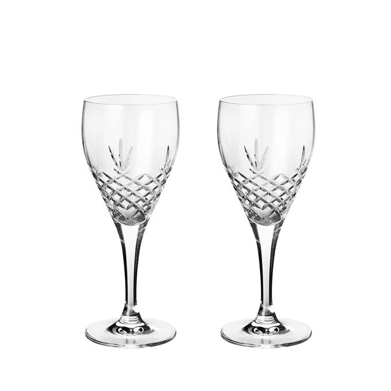 Frederik Bagger Crispy vitvinsglas, 2 st.