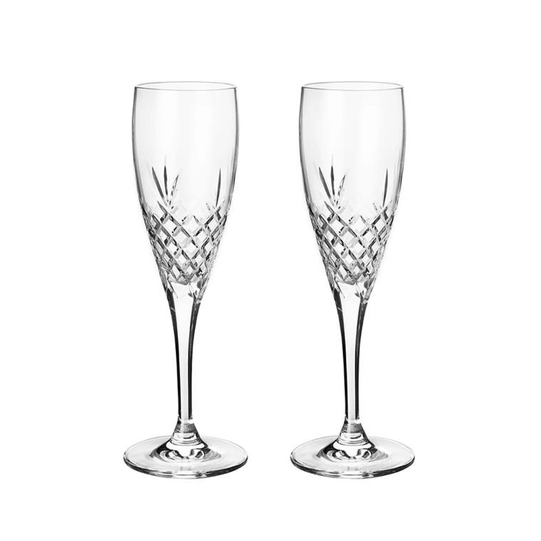 Frederik Bagger Crispy Celebration champagneglas, 2 st.
