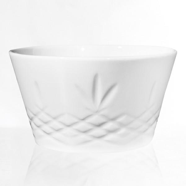 Frederik Bagger Crispy Porcelain Bowl Stor Skål