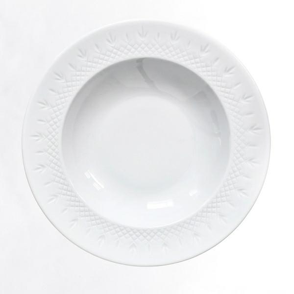 Frederik Bagger Crispy Porcelain Dyb tallerken