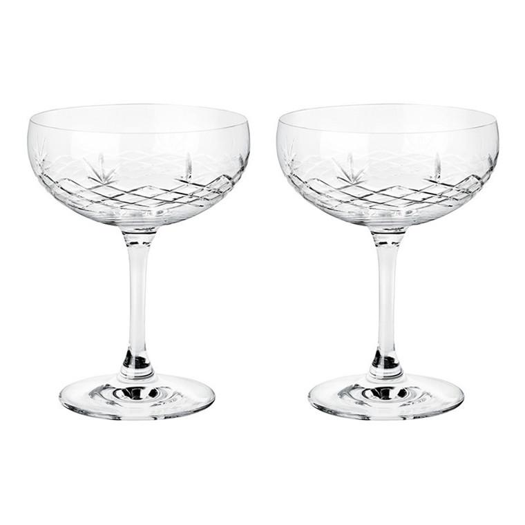 Frederik Bagger Crispy Gatsby champagneskål, 2 stk.