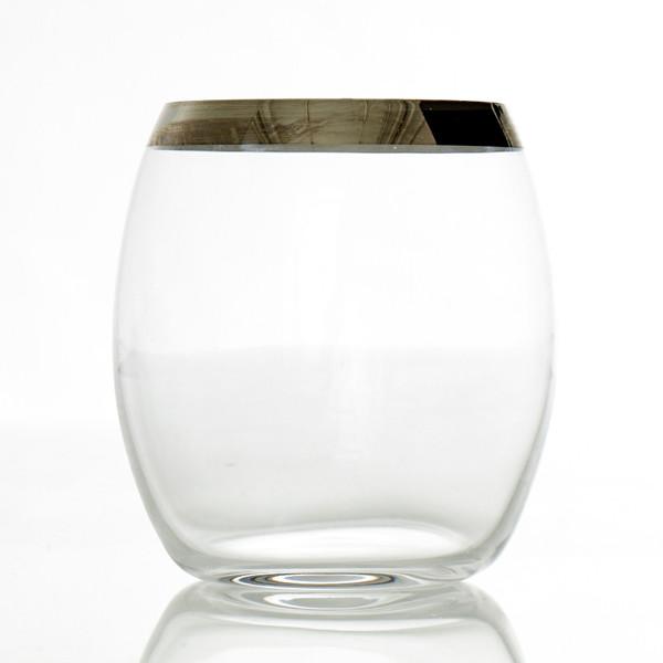 Frederik Bagger Platin Lowball Glas, 2 Stk.
