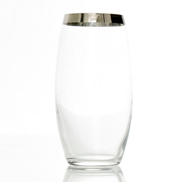 Frederik Bagger Platin Highball Glas, 2 Stk.