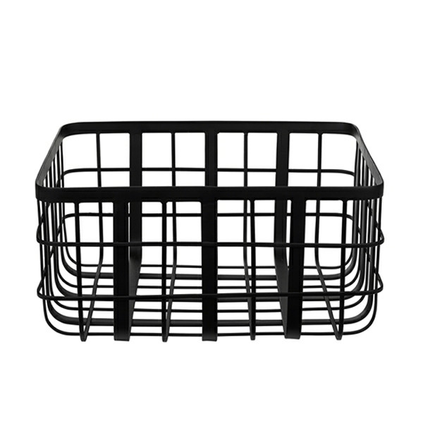 Louise Roe Metal Frame Basket Kurv, Medium