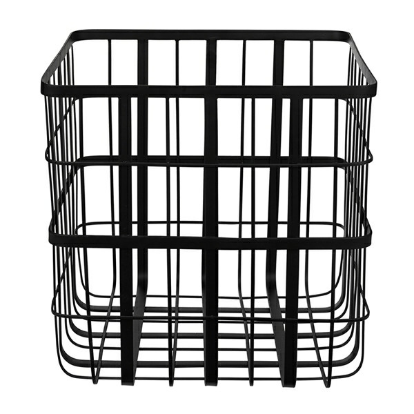 Louise Roe Metal Frame Basket Kurv, Large
