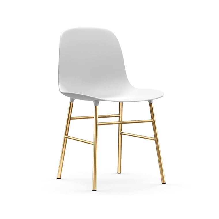 Normann Copenhagen Form Chair, Messing