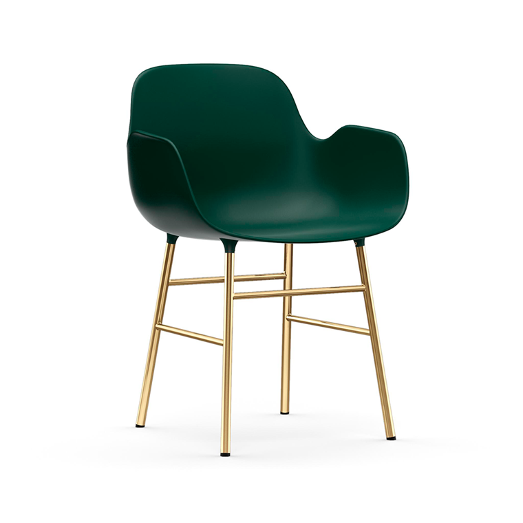 Normann Copenhagen Form Armchair, Messing