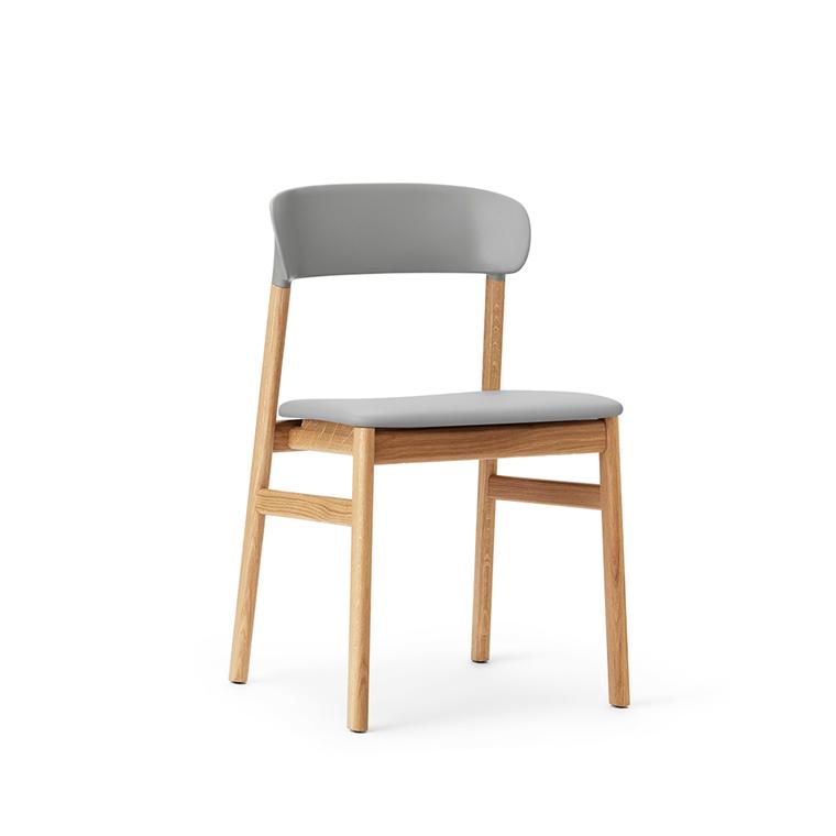 Normann Copenhagen Herit stol, eg / læder