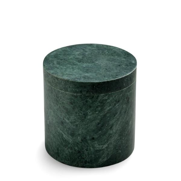 Nordstjerne krukke med låg, grøn marmor
