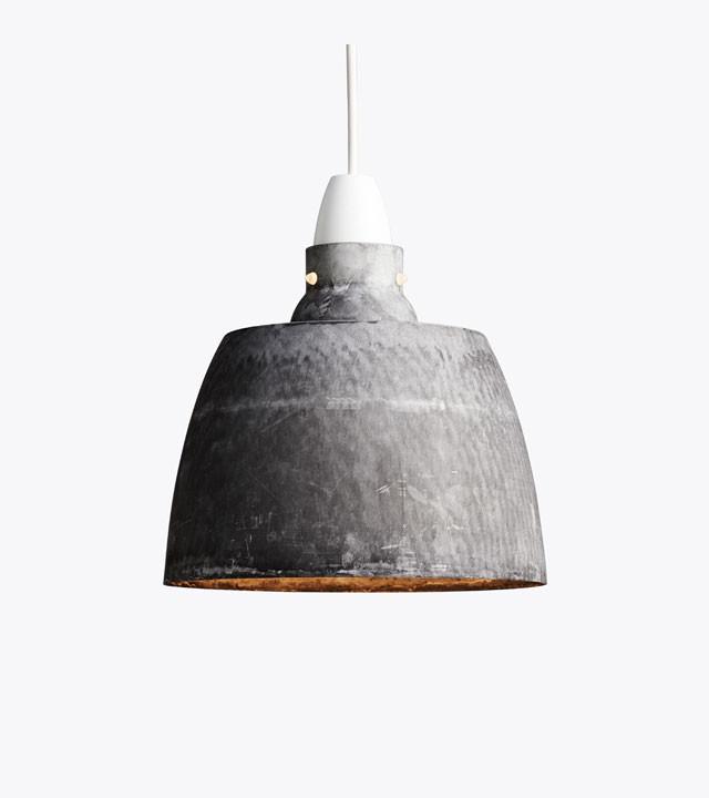 New Works Hang on Honey lampe, oxideret aluminium