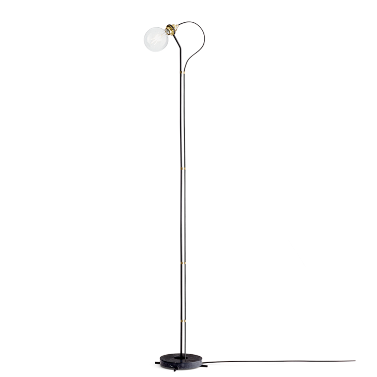New Works Five Floor lamp gulvlampe i sort