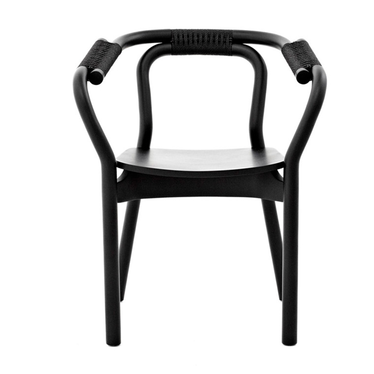 Normann Copenhagen Knot Chair, Sort