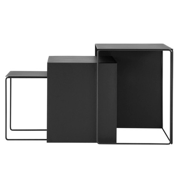Ferm Living Cluster Tables, Black