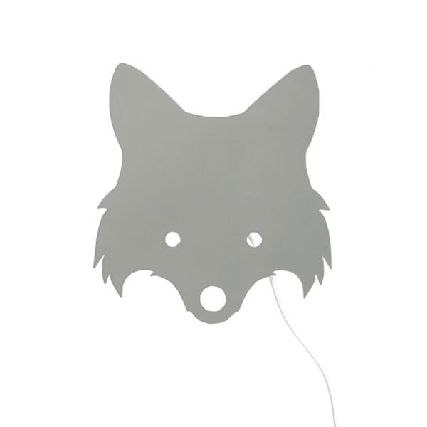 Ferm Living Fox Lampe, Dusty Green