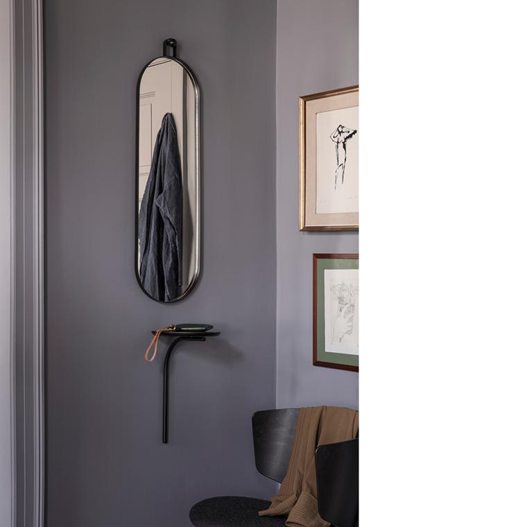 Ferm Living Poise Oval Mirror, spejl