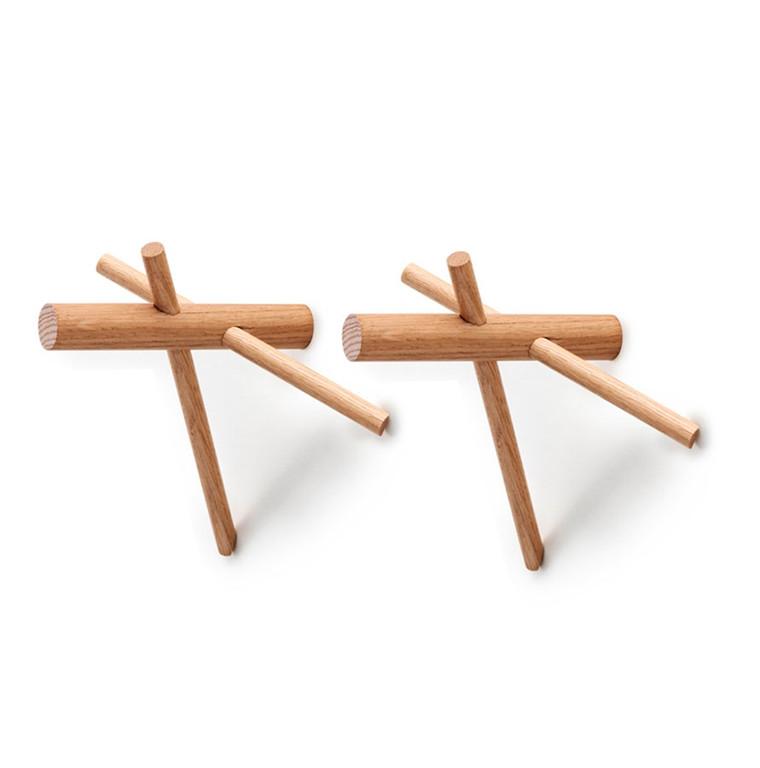 Normann Copenhagen Sticks Hooks - 2 pcs