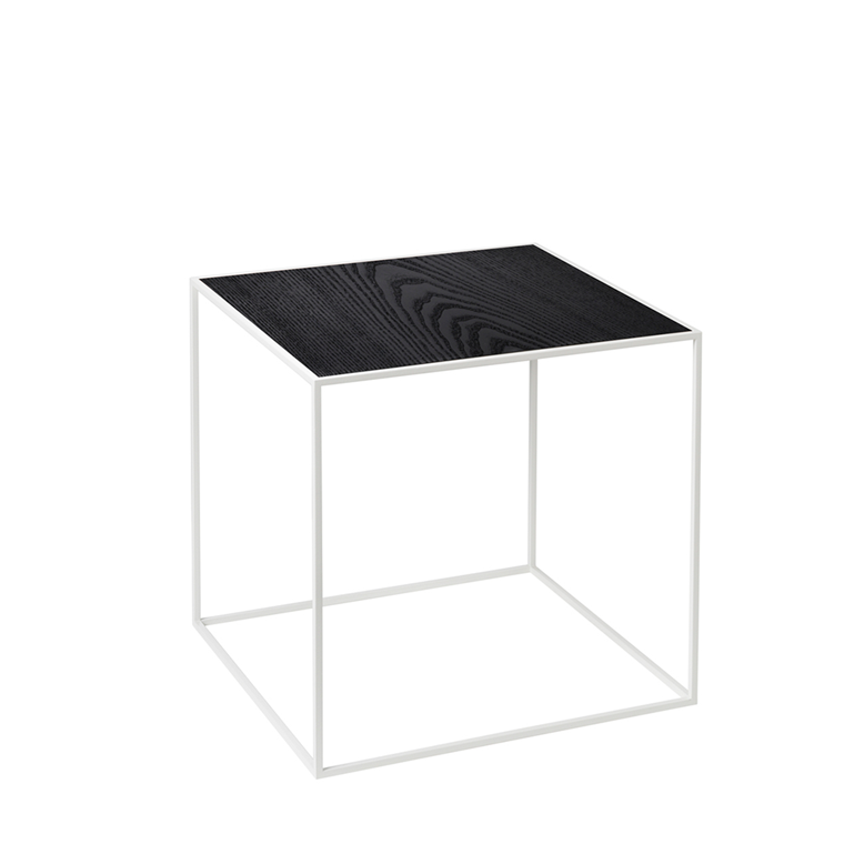by Lassen Twin 42 Table - bord, hvid base