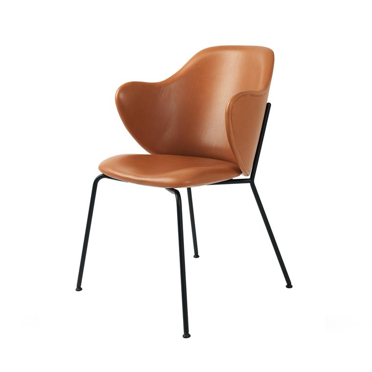 by Lassen Chair - spisebordsstol, læder