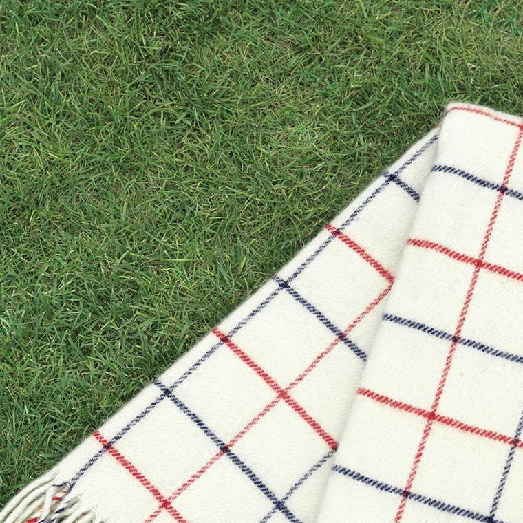 Tivoli By Normann Cph Throw Blanket Simple Check