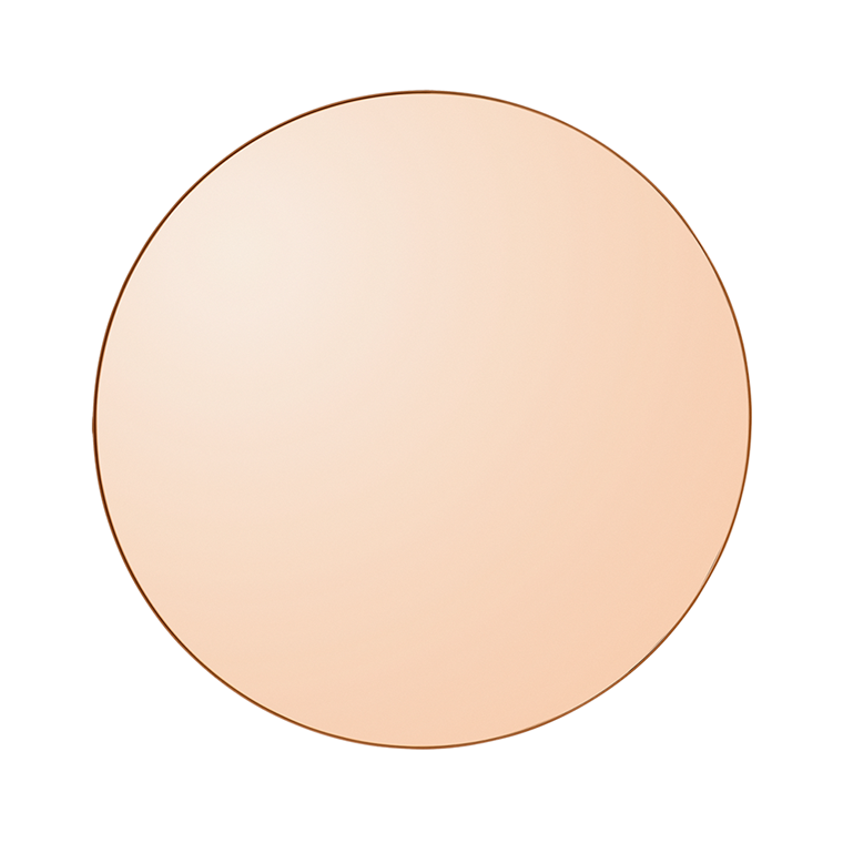 AYTM Circum Mirror - Amber