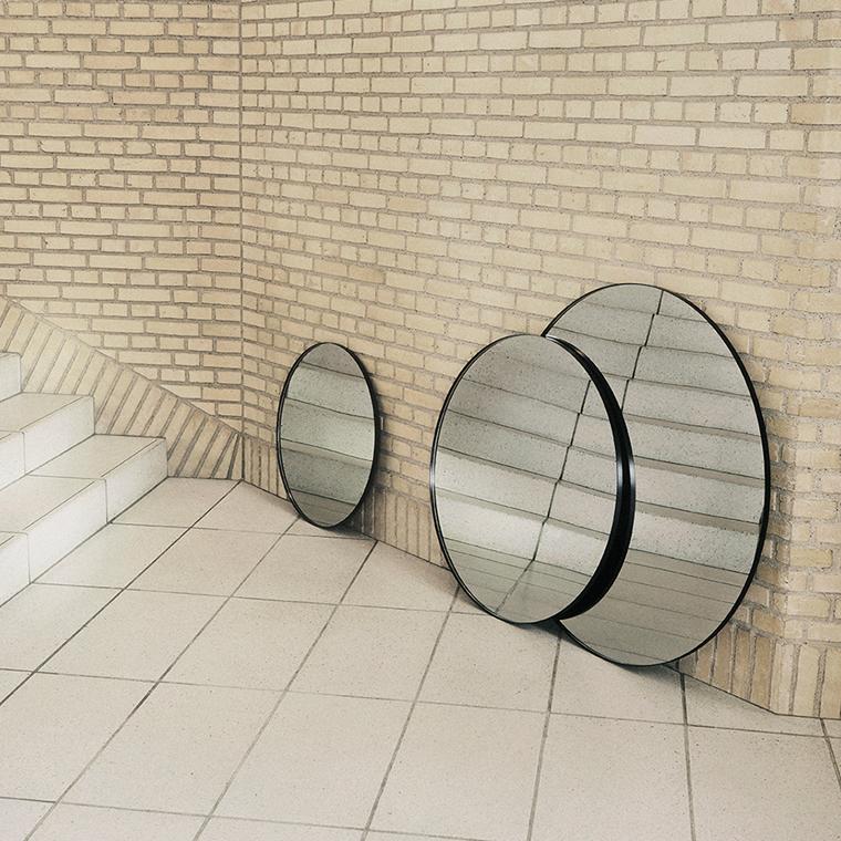 AYTM Circum Mirror - Black/Clear