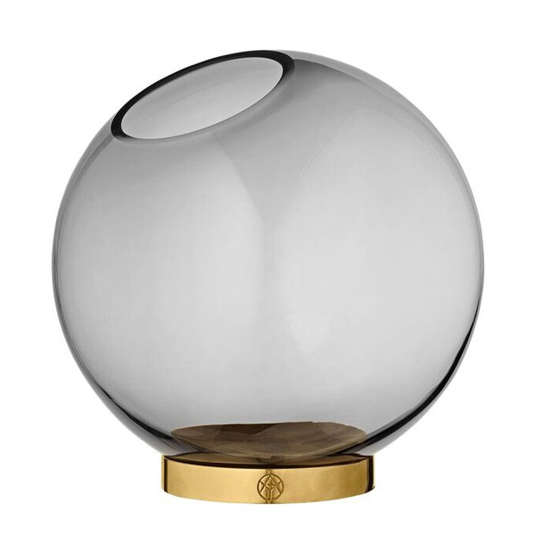 AYTM Globe vase vas m/ mässing, Medium