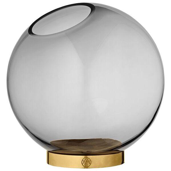 AYTM Globe vase vas m/ mässing, Large