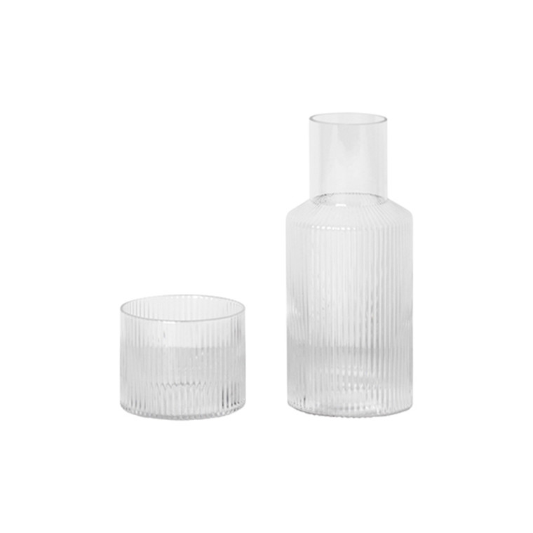 Ferm Living Ripple karaff Set