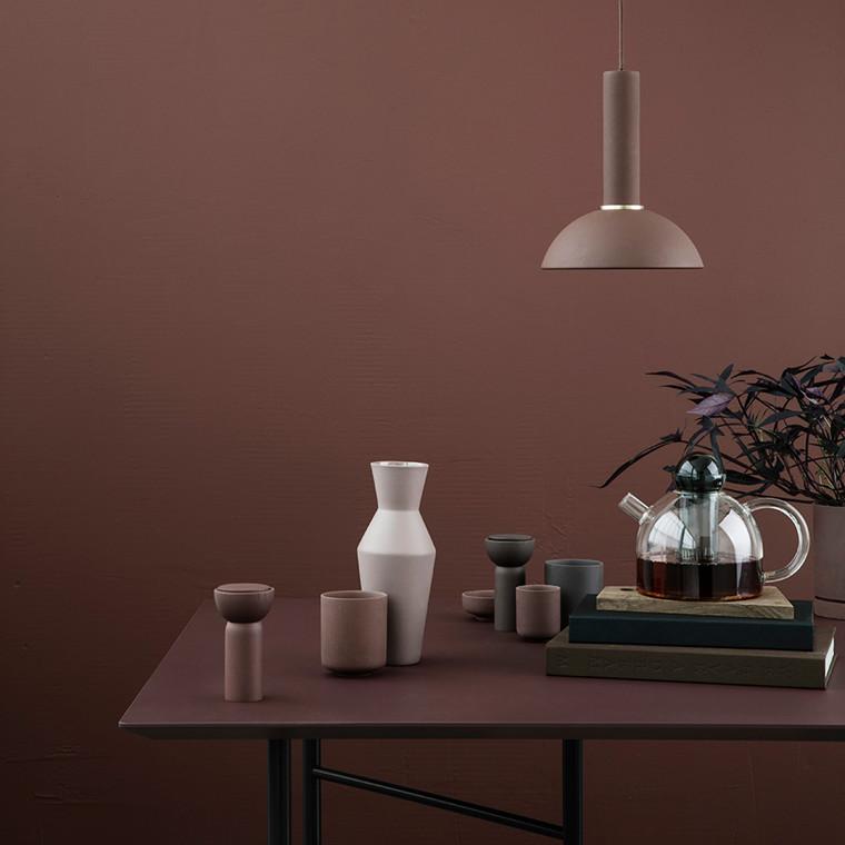 Ferm Living Still-tekande i transparent og farvet glas