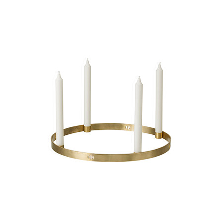 Ferm Living Circle Candle Holder, large