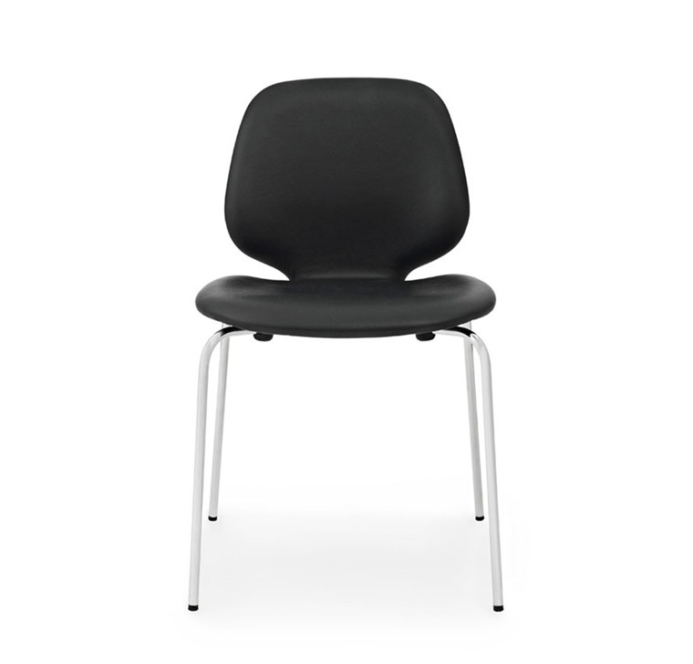 Normann Copenhagen My Chair Læder, Krom