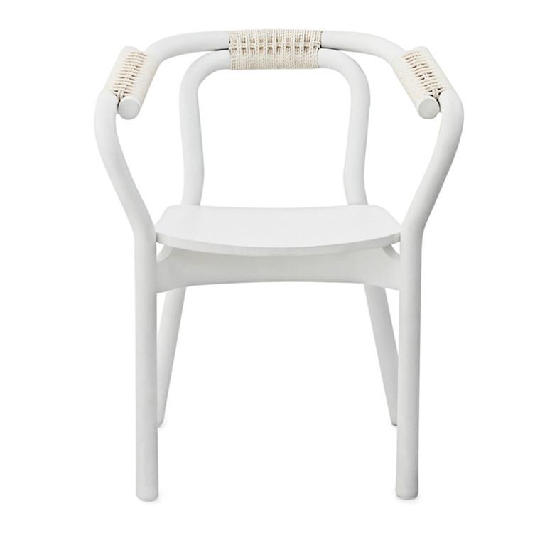 Normann Copenhagen Knot Chair, Hvid
