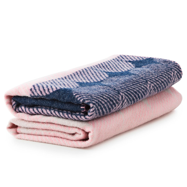Normann Copenhagen Ekko Throw Tæppe, Rose