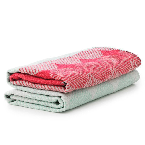 Normann Copenhagen Ekko Throw Tæppe, Mint