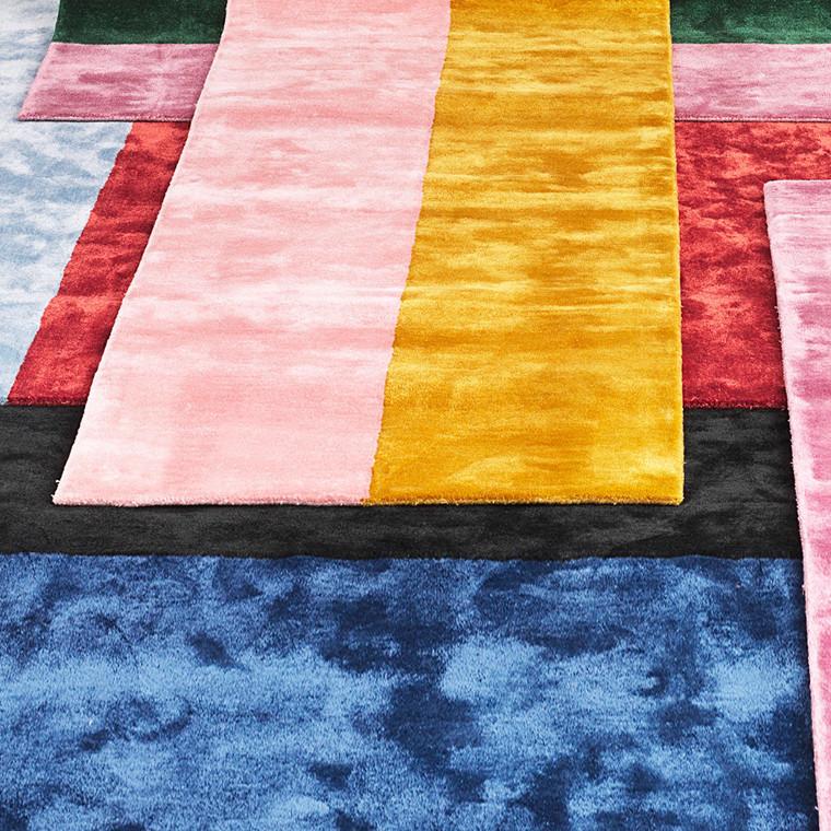 Normann Copenhagen Pavilion gulvtæppe g/l, 80x240 cm
