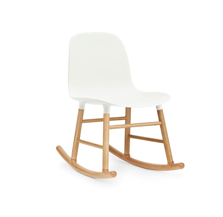 Normann Copenhagen Form Rocking Chair, Eg