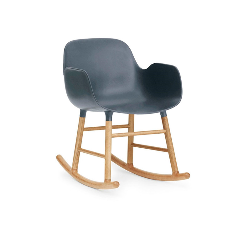 Normann Copenhagen Form Rocking Armchair, Eg