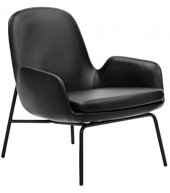 Normann Copenhagen Era Lounge Chair Low, Stål