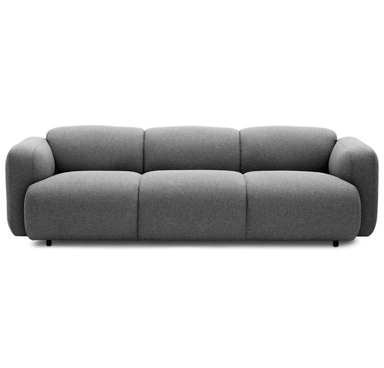 Normann Copenhagen Swell Sofa 3 Seater