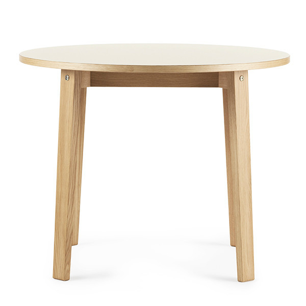 Normann Copenhagen Slice Table m/ linoleum, Ø95cm