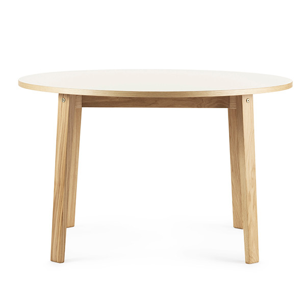Normann Copenhagen Slice Table m/ linoleum, Ø120cm
