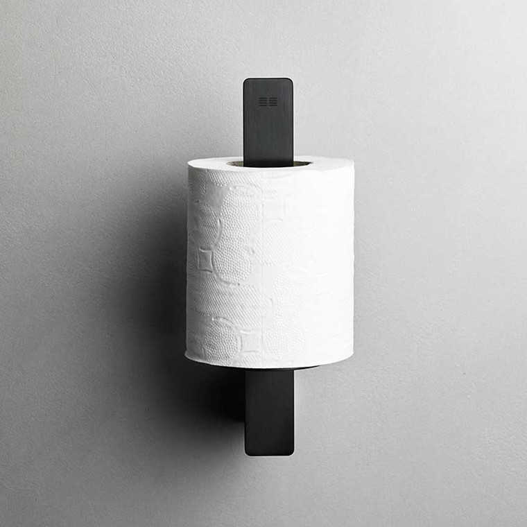Unidrain Reframe toiletrulleholder t/reserve, sort