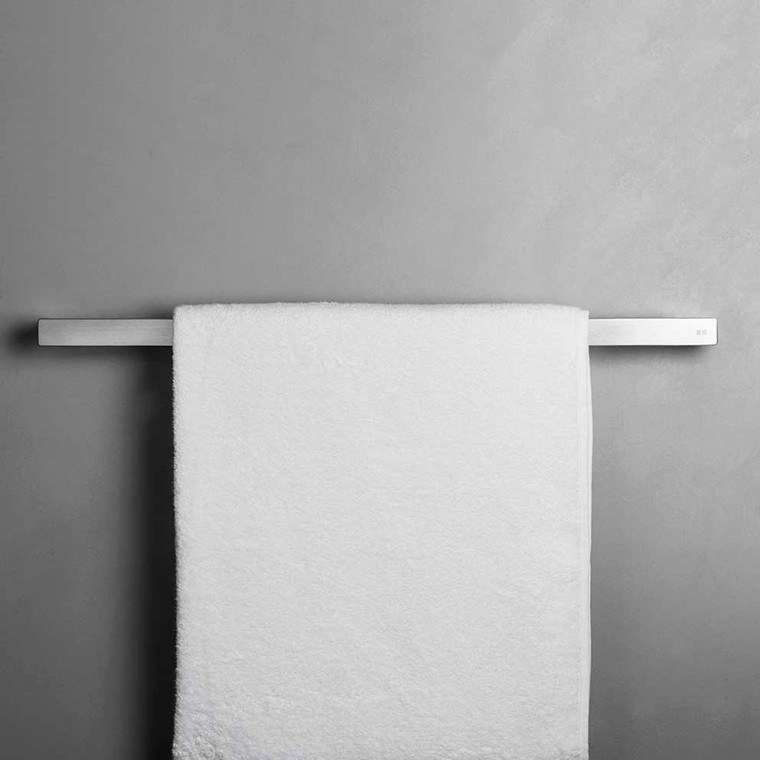 Unidrain Reframe håndklædestang model 600, børstet stål