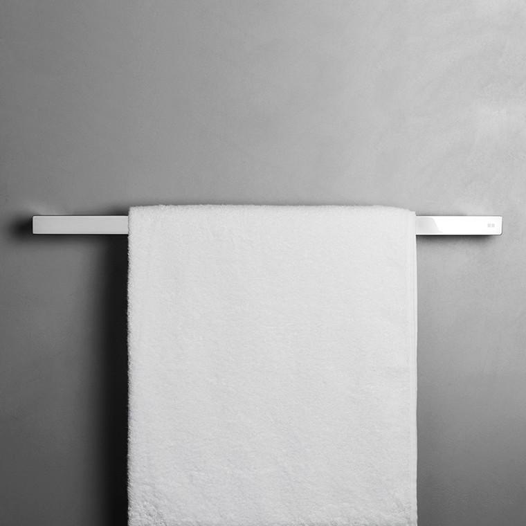 Unidrain Reframe håndklædestang model 600, blankt stål