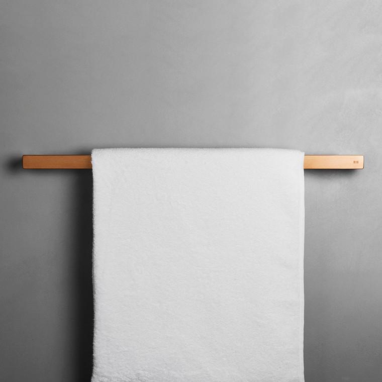 Unidrain Reframe håndklædestang model 600, kobber