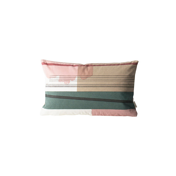 Ferm Living Colour Block Pude, Small