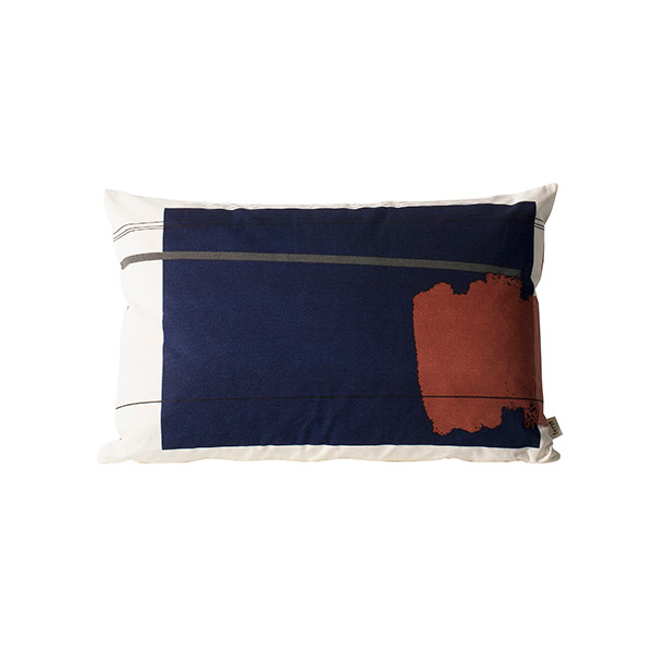 Ferm Living Colour Block Pude, Large